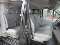NO VAT Vauxhall Vivaro 2.0CDTi LWB Sportive 6 seat factory fitted crew cab van (1)
