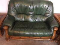 3 piece suit (leather)