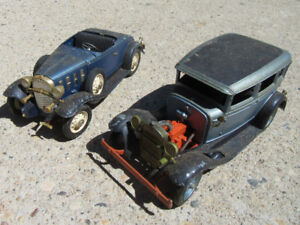 2 DIE CAST MODELS - OLD - RARE - HUBBY TOYS - USA
