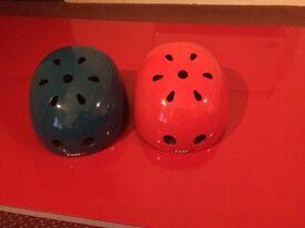 Roller Skate Board Cycle BMX Helmet - Adjustable CE Safe x2 - Adult Mens Womens