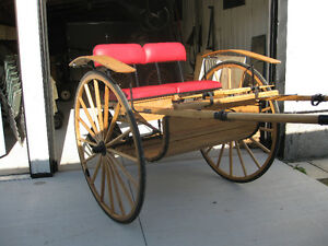 Single horse road cart for sale