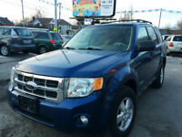 2008 Ford Escape XLT 4WD CLEAN CARFAX, 3yrs FREE OIL CHANGES