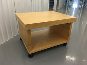 IKEA OPPLI TV Stand on Casters