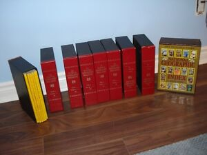 COLLECTION OF NATIONAL GEOGRAPHIC 52 Binders/bookcase