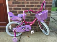 "Girls Raleigh Molly Bike 16"""