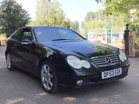 Mercedes c220 Avantgarde coupe panoramic leather finance available