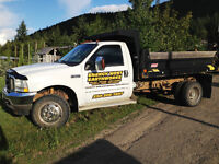 Excavating, trucking, Bobcat services