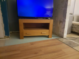 Solid Oak Tv Unit For Sale very heavy