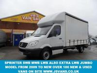 CURTAINSIDE SPRINTER CURTAINSIDE SPRINTER VAN LUTON 2.1 313 CDI LWB D
