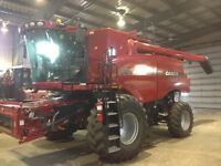 2012 CASE IH 8120 COMBINE WITH 3016 PICKUP