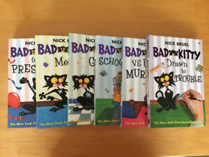Bad Kitty set of 6 books