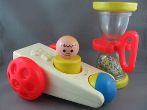 Vintage Fisher Price Baby Toys - $10