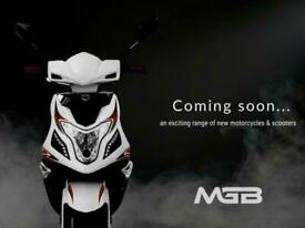 2021 MGB R8 125cc Automatic Learner Legal Scooter FOR UNDER £2000