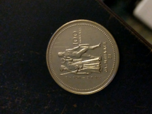 1976 14kt Gold Olympic Canadian Coin