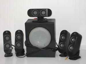 Système de haut-parleur, logitec