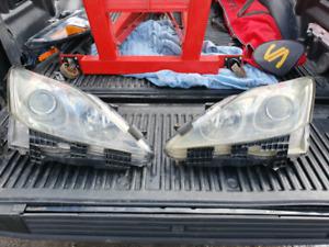 2007 lexus is250 headlight replacement