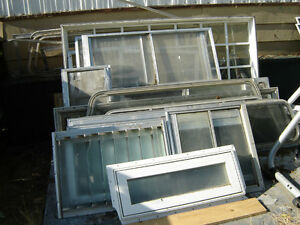 Used Camper/ Trailer Windows / Larger Trailer Doors Prices vary