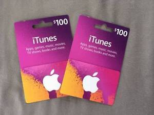 Unwanted Gift:  $100 iTunes Cards Vaucluse Eastern Suburbs Preview