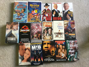 29 VHS tapes