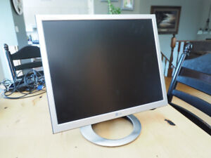 Computer Monitor, no HDMI and is not wide format.