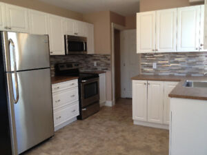 3 bed, Finished 3 levels, 1.5 bath, washer/dryer, new windows