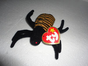 TY SPINNER THE SPIDER BEANIE NEW WITH TAG