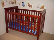 Boori Pioneer convertable cot and toddler bed Floraville Lake Macquarie Area Preview