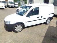 Vauxhall Combo crew van 2008 no vat cheap van