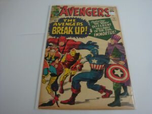 Marvel comics 1960,  Avengers #10
