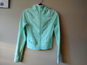 Lululemon Throw Me Over Mint Green Hoodie Size 4