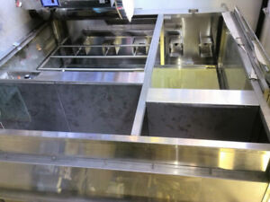 Commercial Warming Hanging Rack/Display Cabinet
