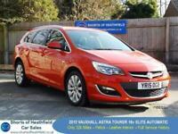 Vauxhall Astra AUTOMATIC 1.6 Design 16v Tourer/Estate - Only 32k Miles - 2015