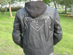 Victory leather jacket