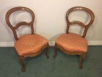 Early 1900s French Lounge Chairs