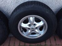 Land Rover discovery 2 alloys