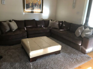 Couch, sectional (great quality! Great condition!)
