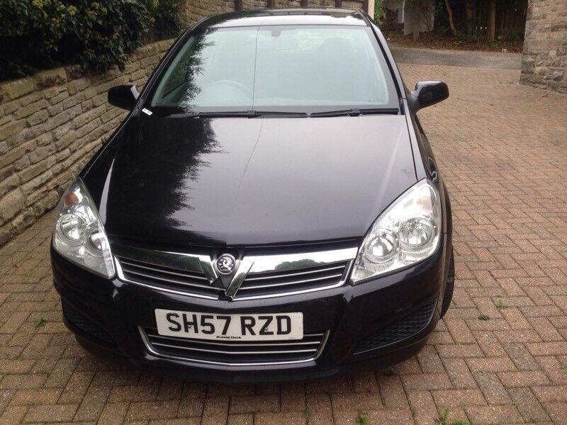 Vauxhall Astra 1.4 Black - 5 Door Low mileage - 5 Door - 2007 57