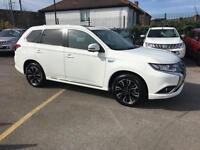 2016 Mitsubishi Outlander 2.0 PHEV GX4h 5dr Auto Petrol/PlugIn Elec Hybrid white