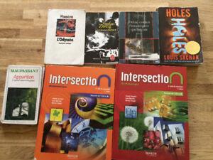 Intersection mathématiques manuel À-B secondaire 3 et roman coll