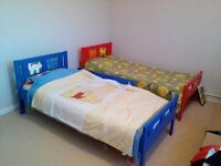 Two child beds