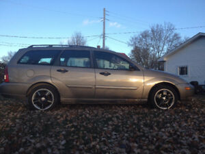 """2004 Ford Focus ZTW Wagon"