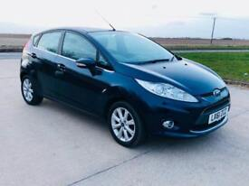 Ford Fiesta 1.25 2012(61)REG**METALLIC BLUE**AIR CON**VERY ECONOMICAL**