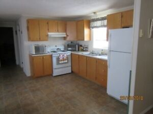 Furnished and fully equipped 3 bedroom mini-home