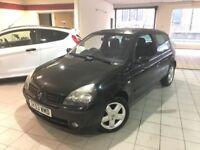 Renault Clio 1.2 16V DYNAMIQUE (black) 2003