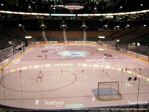 Lower Bowl Leafs Tickets Last Game of Season