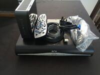 Sky+ HD box plus Sky Fibre Router