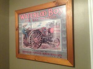 Waterloo boy tractor advertisement
