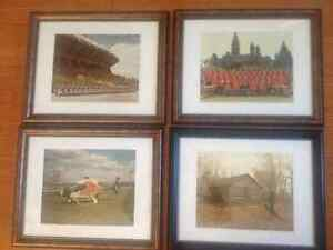 """11"""" x 14"""" Beautiful Framed Old Vintage 8x10 Police Photo's"""