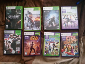 Trade Xbox 360 games for camping stuff