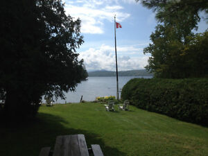 Lake Memphremagog - Family Cottage with Private Beach
